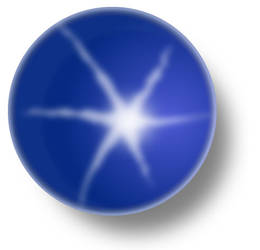 Blue Star Sapphire by inkedicon