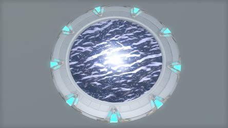 Stargate Atlantis Gate by oneguyvideos