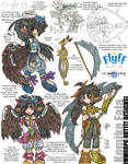 Komike MMORPG Outfit Designs