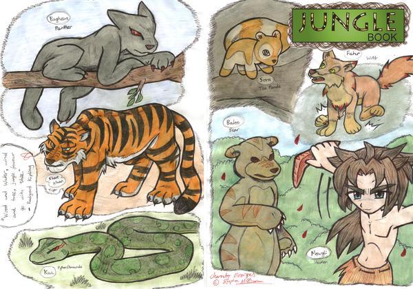 Jungle Book Kyara's by daaku-no-tenshi