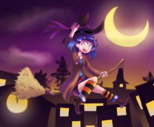 Witch LyDia by AniDrewit