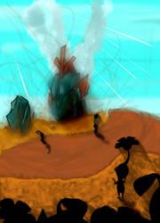 Strange Crash in a Strange Land by Dreg-Exheart