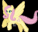reupload: Fluttershy, my style by Honeycrisp1012