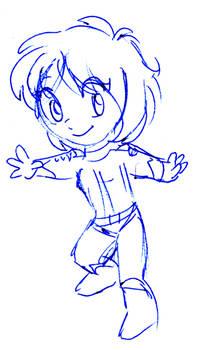 sketch: Leen chibi