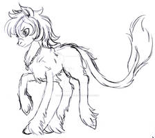 Zephyr Fluffy Sketch