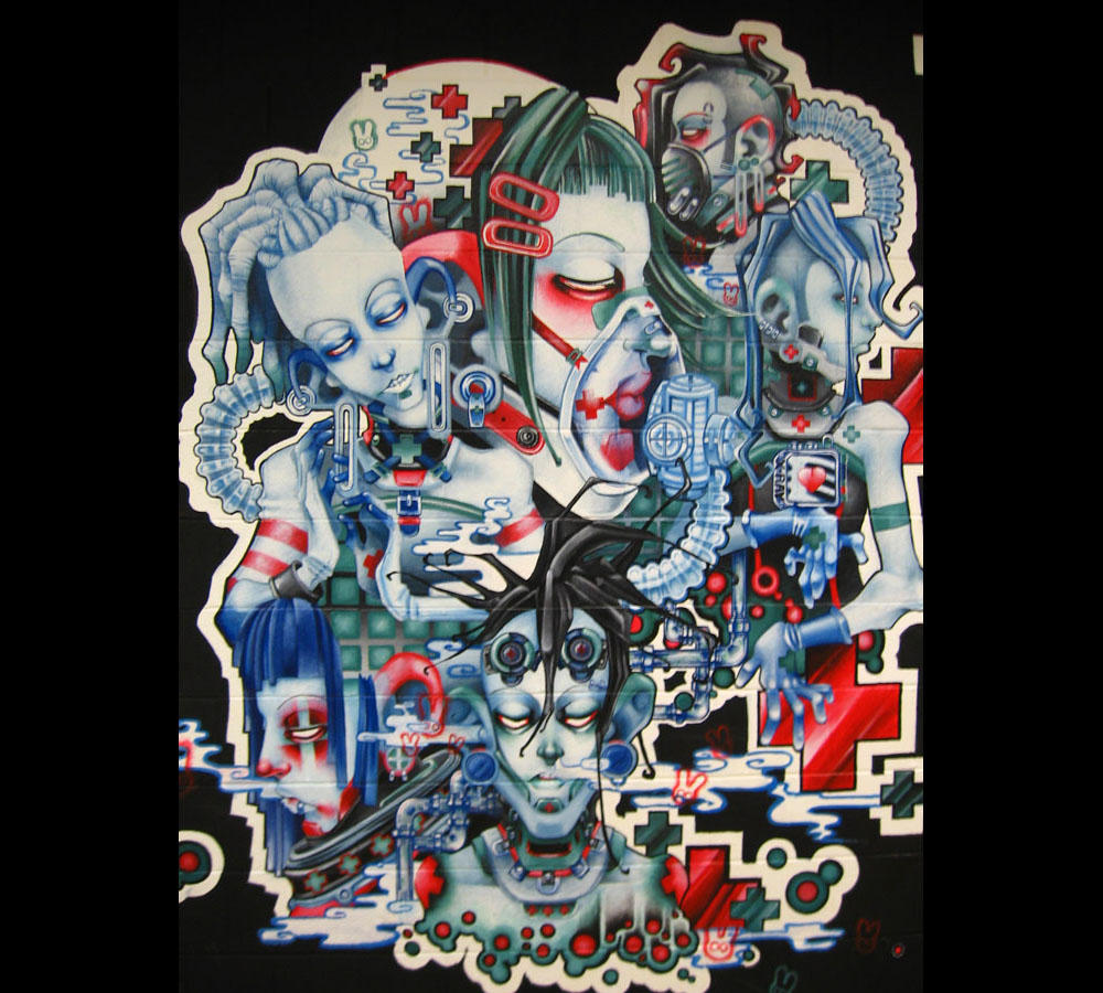 Convalescence Mural 1 by DeaDNeSS