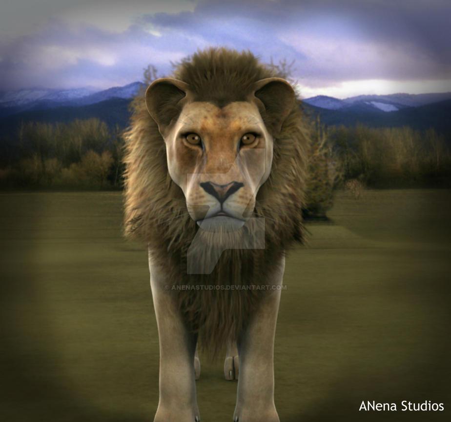 Leo The Lion by ANenaStudios