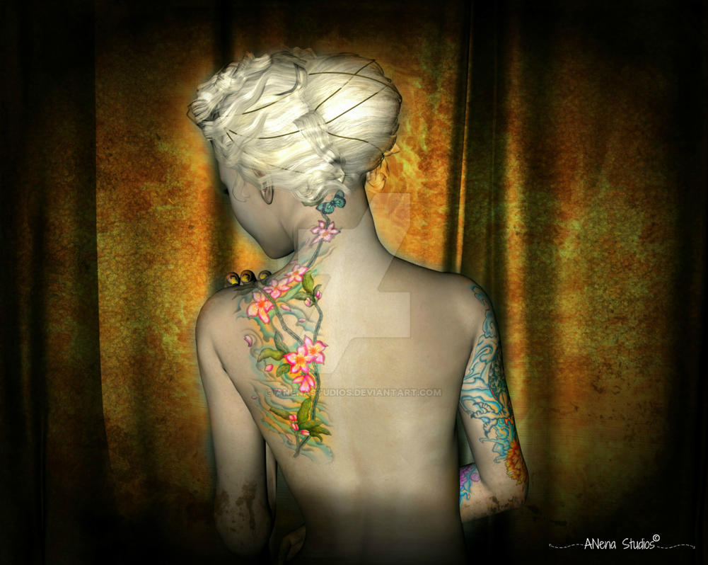 Marina and The Back Pose   By Anena Studios by ANenaStudios