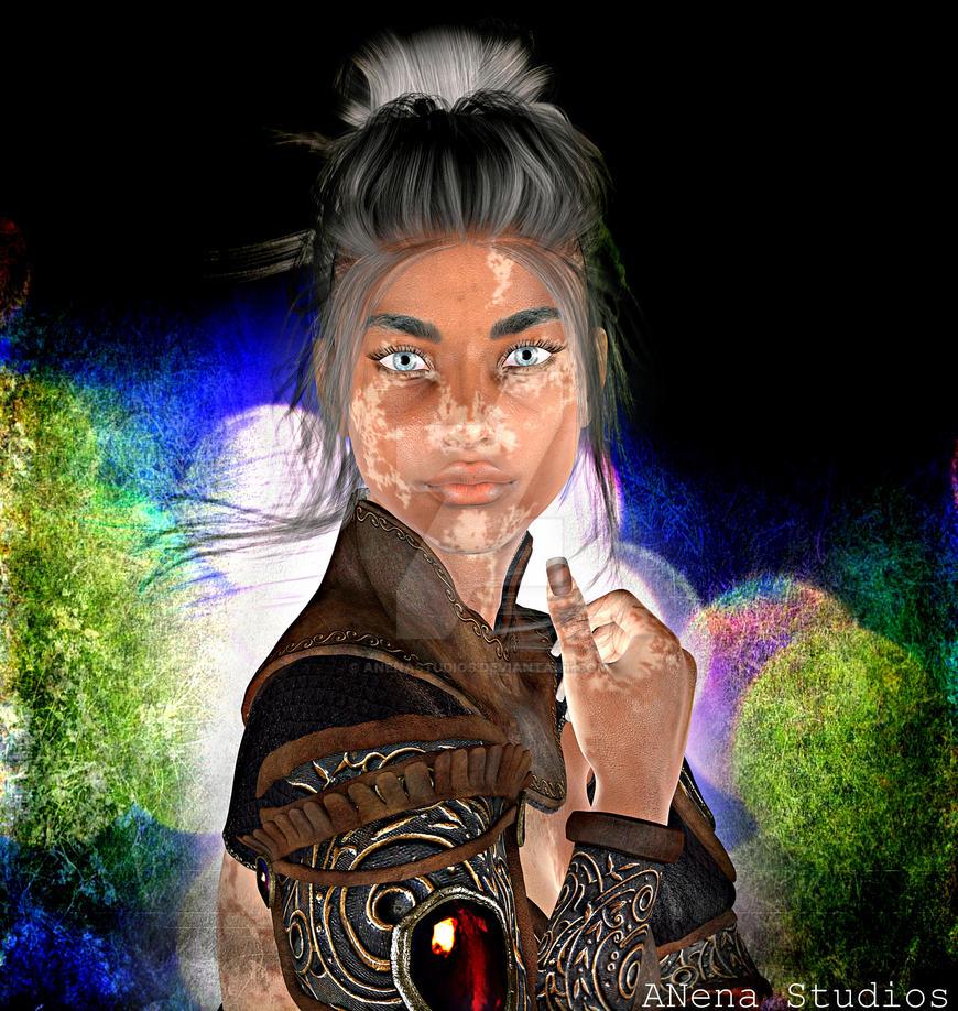 Her eyes  By ANena Studios by ANenaStudios