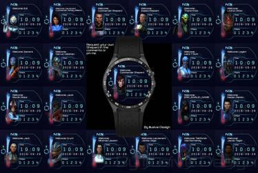 Mass Effect Watchfaces