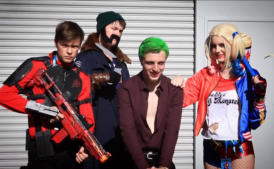 Suicide Squad Cosplay Group by Blonde-Demon
