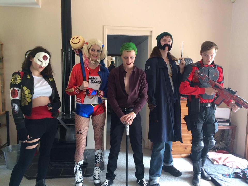 Damaged Goods Cosplay - Suicide Squad by Blonde-Demon