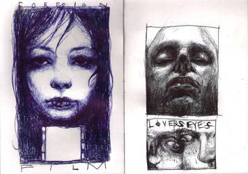Sketchbook 01 by CottonCandyTrip