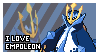 Empoleon Fan Stamp by Elik-Chan