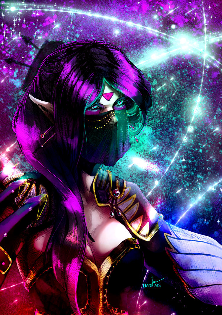 Templar Assassin by HaneMS