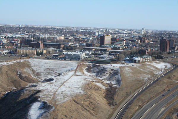 Lethbridge, Alberta Aerial by TheCommunistCat