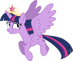 Princess Twilight Sparkle vector