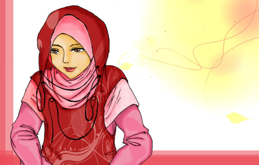 Hijab Girl by emaear