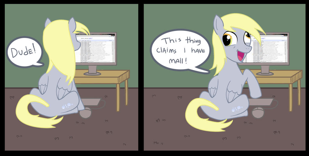 Derpy by incongruousinquiry