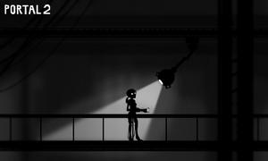 Portal 2 vs LIMBO by incongruousinquiry