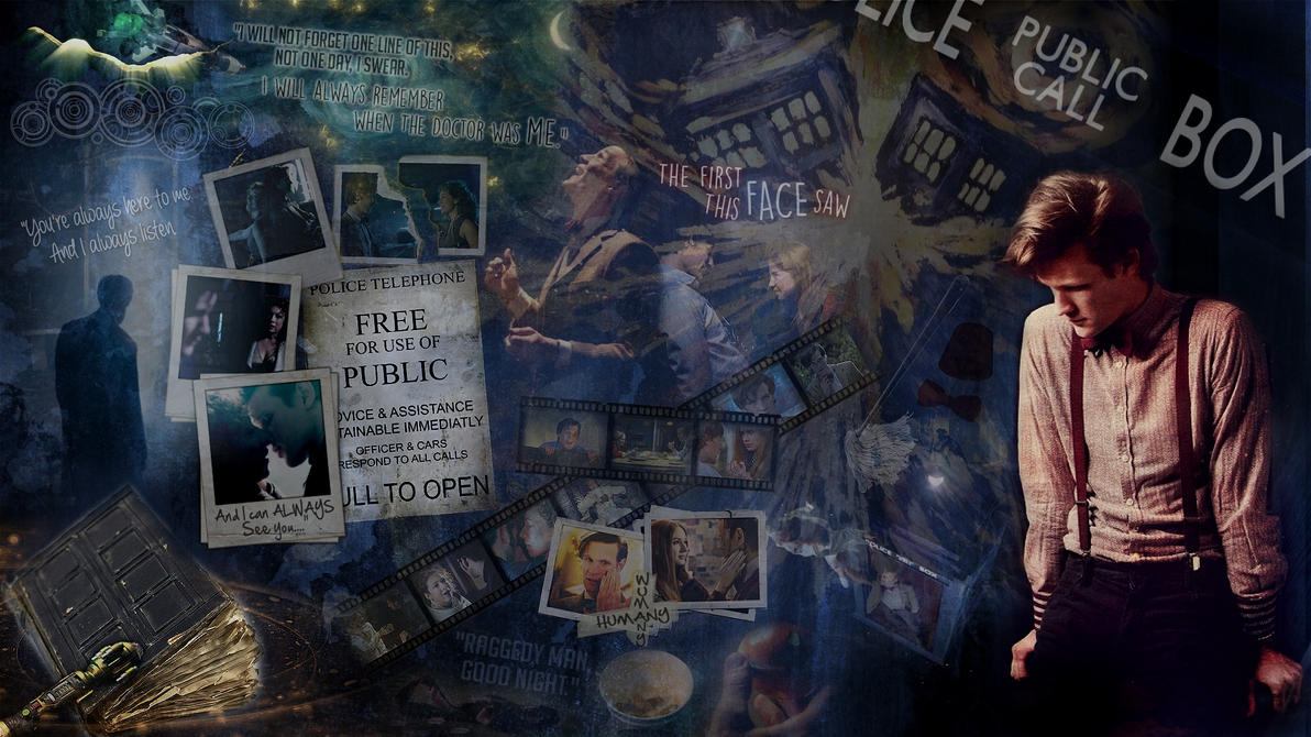 11th doctor tribute wallpaper by sikux on deviantart 11th doctor tribute wallpaper by sikux voltagebd Image collections