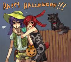 Happy Halloween by O-Kei