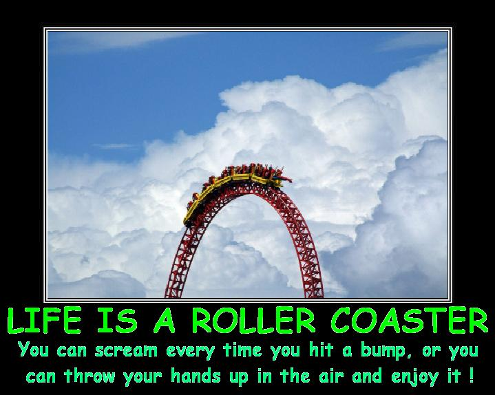 Life is a Roller Coaster by DoctorWhoOne