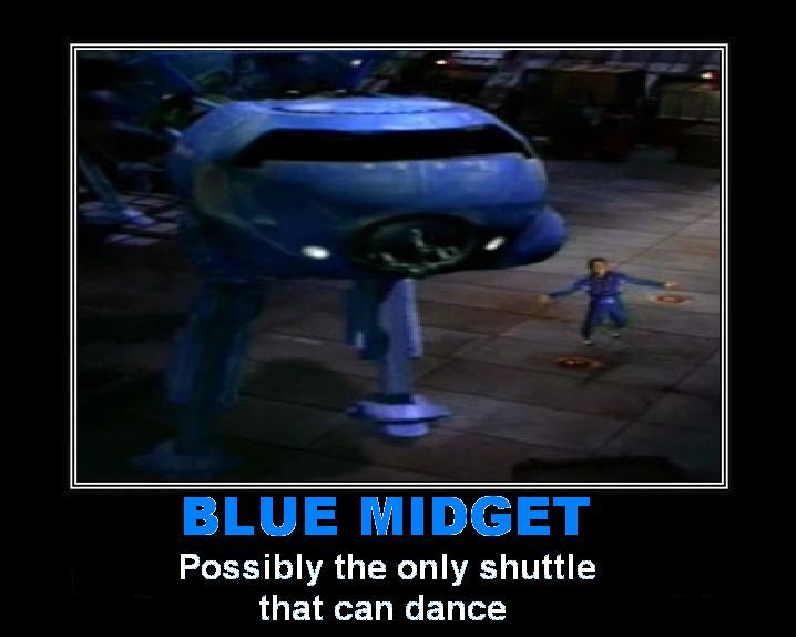 Red dwarf blue midget