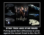 Star Trek and Star Wars