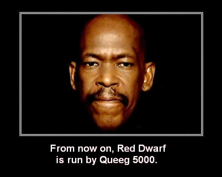 Red Dwarf - Queeg 5000 by DoctorWhoOne on DeviantArt