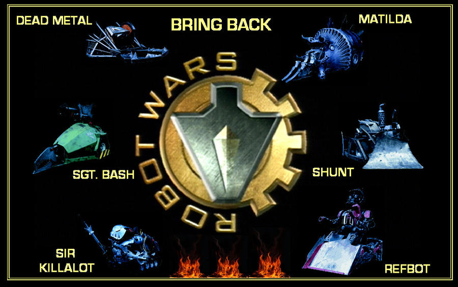 Bring Back Robot Wars by DoctorWhoOne