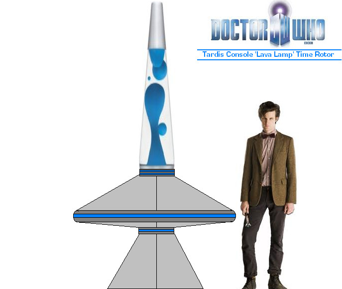 Doctor who tardis console lava lamp time rotor by doctorwhoone mozeypictures Gallery