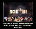 Doctor Who - 50th Anniversary poster [fan-made]