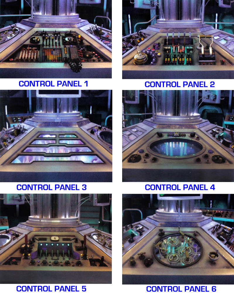DW - 2012 Tardis Console [with correct info] by DoctorWhoOne