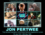 Jon Pertwee [7th July 1919 - 20th May 1996]