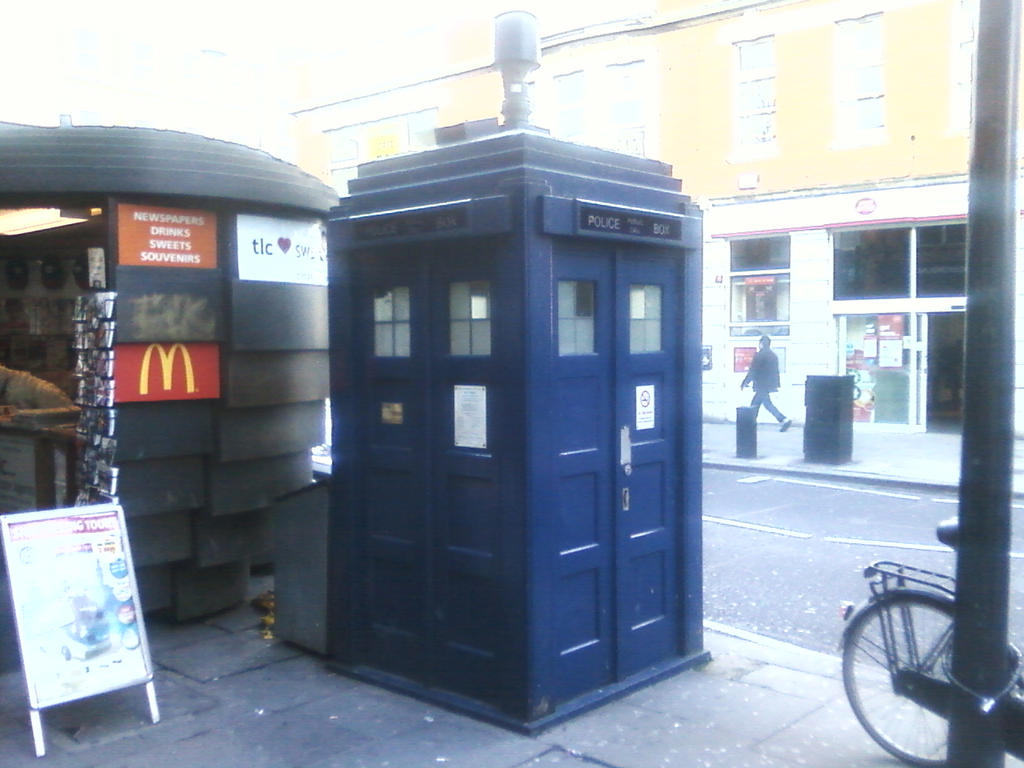 Earls Court Police Public Call Box / Tardis [1] by DoctorWhoOne