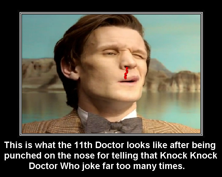 Doctor Who - Knock Knock Doctor Who