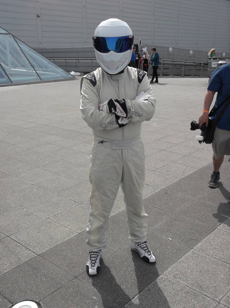 London MCM Expo - Top Gear The Stig Cosplayer by DoctorWhoOne on
