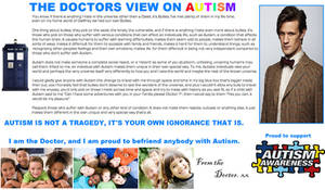 Doctor Who - The Doctors view on Autism