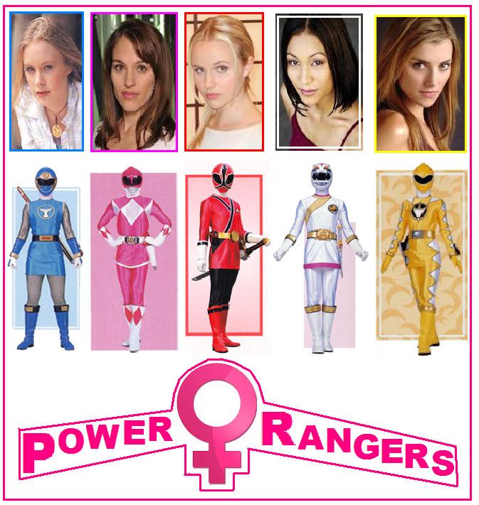 power ranger girl