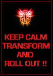 Transformers - Autobots 'Keep Calm' Poster