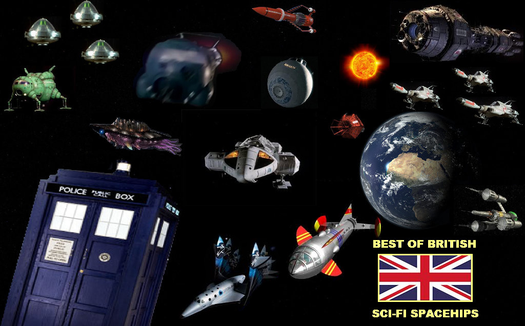 best of british   sci fi spaceships by doctorwhoone on