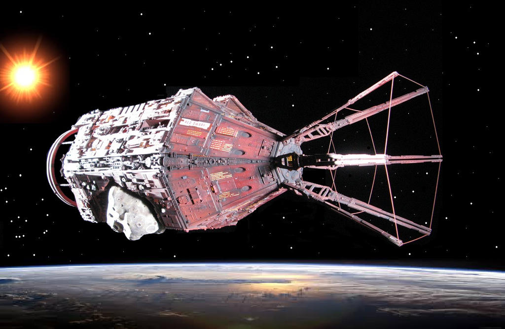 Red Dwarf - The Red Dwarf [J.M.C. Mining Ship] by DoctorWhoOne