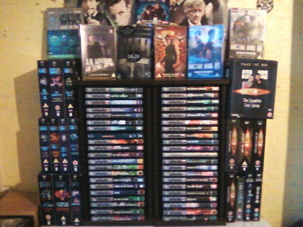 Doctor Who DVD Collection by DoctorWhoOne
