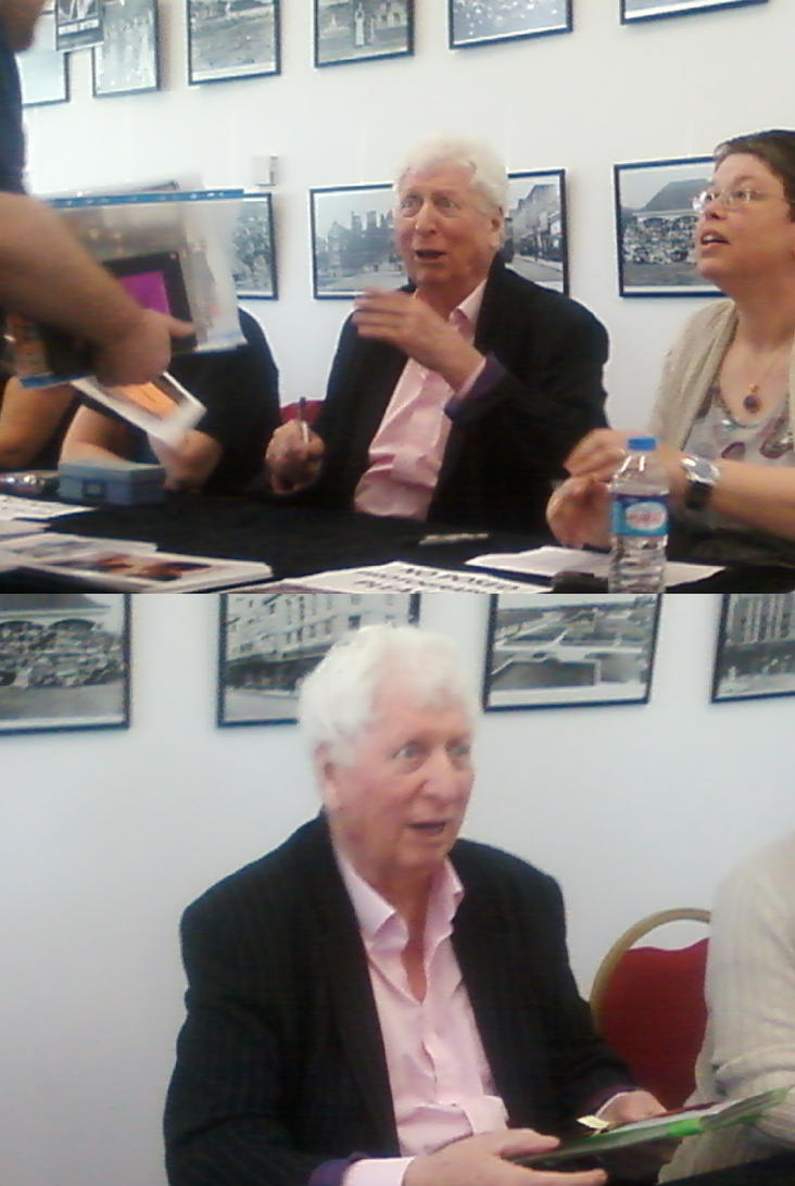 Dr.Who's Tom Baker at Barking Learning Centre by DoctorWhoOne