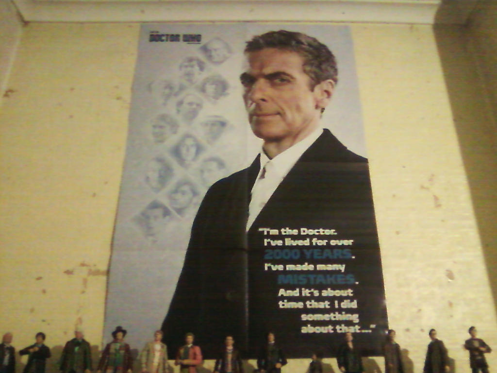 DW - NEW Doctor, NEW Poster by DoctorWhoOne