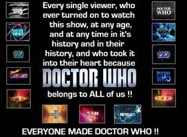 Everyone made Doctor Who by DoctorWhoOne