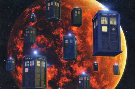 Doctor Who - The Doctors save Gallifrey