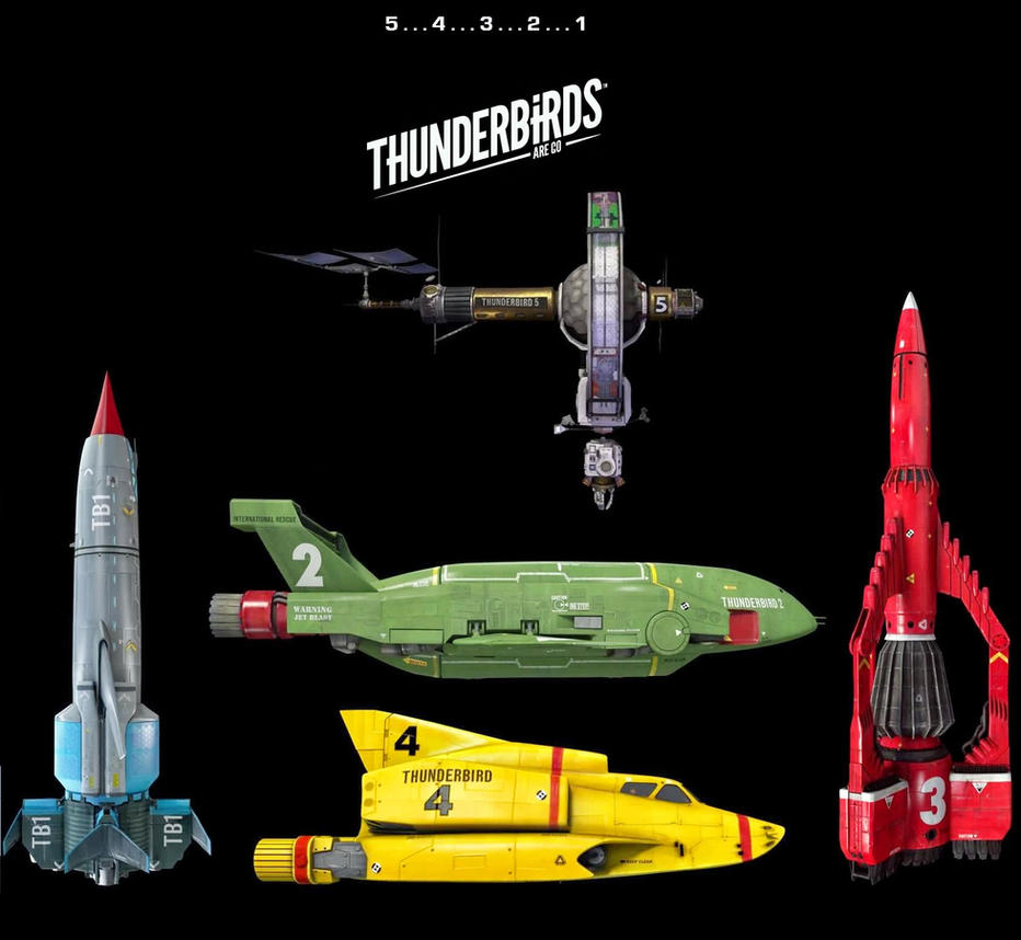 Thunderbirds Are Go ! - The new Thunderbirds by DoctorWhoOne