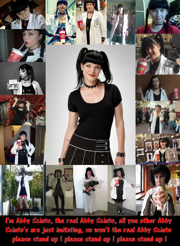 N.C.I.S. - The REAL Abby Sciuto by DoctorWhoOne